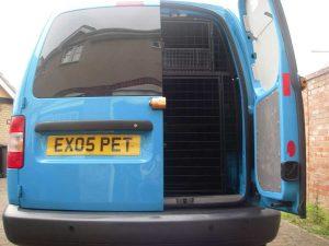 Pet Courier Vehicle